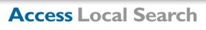 access local search logo